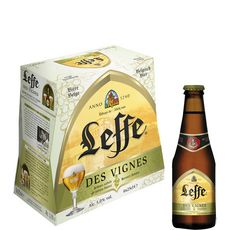Abbaye de Leffe bière des vignes 5° -6x25cl