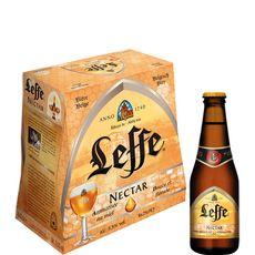 LEFFE Bière blonde nectar aromatisée miel 5,5% bouteilles 6x25cl