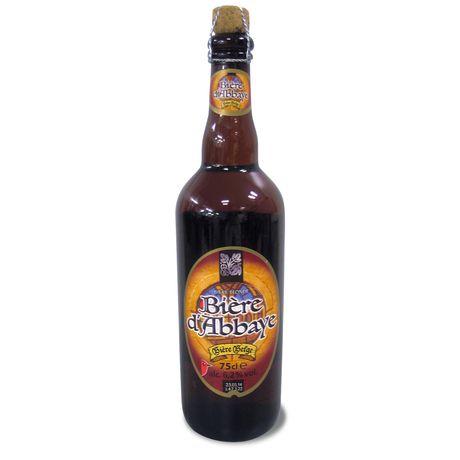 Auchan bière abbaye 6.2° - 75cl