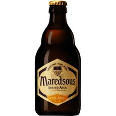 MAREDSOUS Bière blonde d'abbaye 6% bouteille 33cl