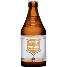 CHIMAY Bière blonde triple 8% bouteille 33cl