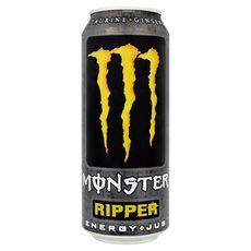 Monster energy Boisson énergisante ripper au jus de fruit boîte 50cl