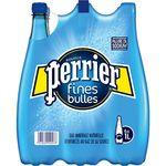 Perrier fines bulles eau minérale gazeuse 6x1l