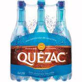 Quézac eau minérale naturelle gazeuse 6x1,15l