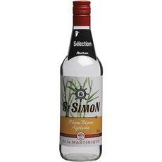 ST SIMON Rhum blanc agricole Martinique 40% 70cl
