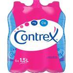 Contrex eau minérale naturelle 6x1,5l à 2,59 €