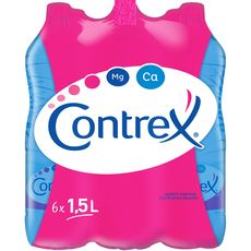 Contrex eau minérale plate 6x1,5l