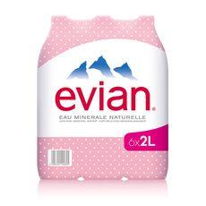 EVIAN Evian eau minérale 6x2l