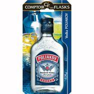 Poliakov vodka pure grain flask 37,5° -20cl