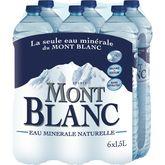 Mont Blanc eau minérale naturelle 6x1,5l