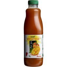 Auchan pur jus de fruit p'tit déj vitamines ACE 1l