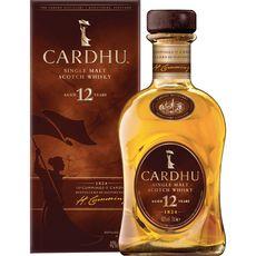 CARDHU Scotch whisky single malt 12 ans 40% avec étui 70cl