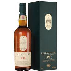 LAGAVULIN Scotch whisky single malt fine fleur d'Ecosse 16 ans 43% avec étui 70cl