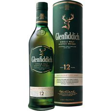 Glenfiddich whisky 12 ans 40° -50cl