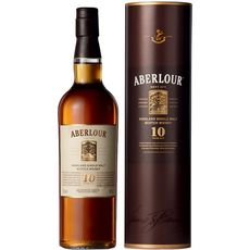 Aberlour whisky 10 ans 40° -70cl sous canister