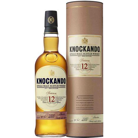 KNOCKANDO Scotch whisky single malt ecossais Season 43%  12 ans