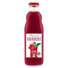Bio Frutti pur jus de cranberry 70cl
