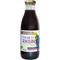 Ethiquable bio pur jus de raisin lot et garonne 1l