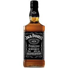 JACK DANIEL'S Whisky Tennessee old N°7 40% 70cl