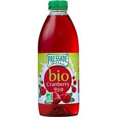 Pressade Jus de cranberry bio 1l