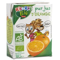 Rik et rok pur jus orange bio 20cl