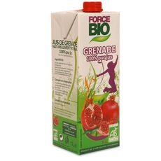 Force Bio 100% pur jus de grenade 1l