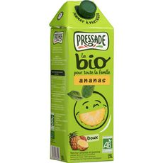 Bio pressade nectar d'ananas brique 1.5l