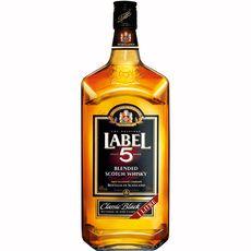 Label 5 scotch whisky classic black 40° -1l