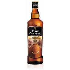 Clan Campbell scotch whisky dark 40° -70cl