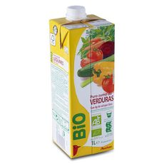 Auchan Bio pur jus de légumes 1l