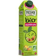 Pressade nectar multifruits bio brique 1l