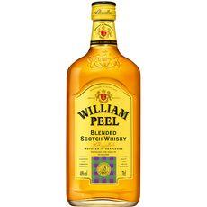 WILLIAM PEEL Scotch whisky écossais blended malt 40% 70cl