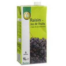 Pouce jus de raisin brique 1l