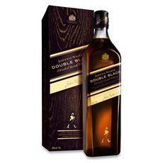 JOHNNIE WALKER Scotch whisky écossais blended malt Double black 40% avec étui 70cl