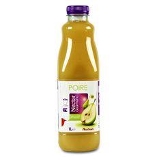 Auchan nectar de poire 1l