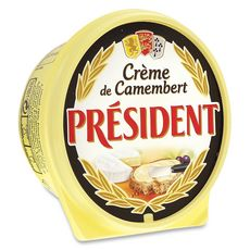 PRESIDENT PRESIDENT Crème de camembert fondu 150g 150g