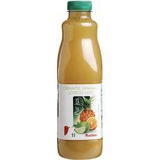 Auchan pur jus d'orange ananas citron vert 1l
