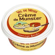 VAL DE WEISS Crème de Munster à tartiner 150g