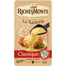 RICHESMONTS Fromage à raclette 420g