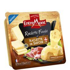 ENTREMONT Entremont raclette fumée de Savoie 350g