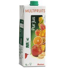 Auchan pur jus multifruits 1l