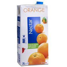 Auchan nectar d'orange brique 2l