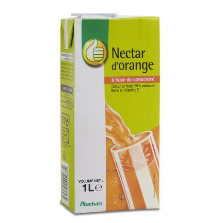 Pouce nectar d'orange en brique 1l