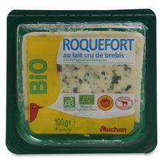 AUCHAN BIO Roquefort AOP 100g