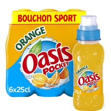 Oasis orange push pull 6x25cl