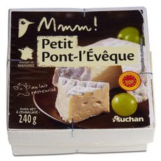 AUCHAN MMM! Petit Pont-l'Evêque AOP 240g