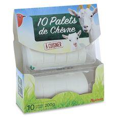 Auchan mini chèvre frais x10 -200g