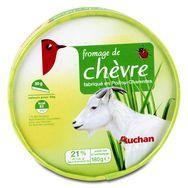 Auchan fromage de chèvre 180g