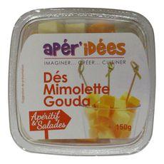 Apér'idées gouda et mimolette pour apéro 150g