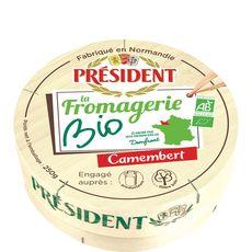PRESIDENT Président camembert bio 250g
